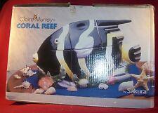 Sakura ~ Coral Reef ~ 3-Piece Canister Set In Original Box
