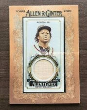 2020 Topps Allen & Ginter Framed Mini Relic ~ Pick your Card