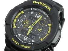 GW-3500B-1A Black Yellow Solar Casio G-shock 200m Resin Band Men's Watch New