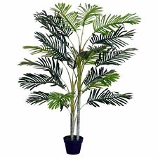 Artificial Palm Tree Indoor Decor Tropical Green Plant Pot Home Office Outdoor