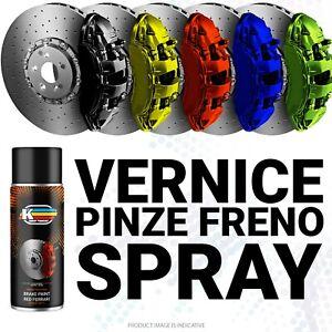 Vernice Spray per Pinze Freni Freno Moto Auto Tuning Alta Temperatura come 2k