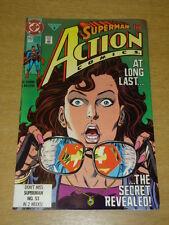 ACTION COMICS #662 DC COMICS SUPERMAN SECRET IDENTITY REVEALED FEBRUARY 1991 X