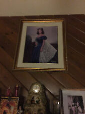"""GONE WITH THE WIND  MAUGHAN """"BLUE PORTRAIT"""" PRINT 11 /3000 REDUCED"""