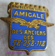 IN10196 - INSIGNE AMICALE DES ANCIENS DES 58-258-118 - AIR