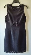 Women's MY MICHELLE 9-10 Made in USA Gorgeous Sleeveless Pencil Dress Black