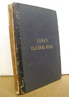 An Atlas of Classical Geography by William Hughes & George Long 1856 Hardcover
