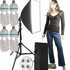 "2300 W Softbox 20""X 28"" VIDEO KIT di Illuminazione Continua Luce fluorescente di"