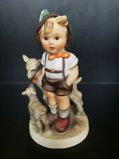 New ListingVintage Goebel Hummel Little Goat Herder boy, #200/0, Tmk-4 W.Germany - Chipped