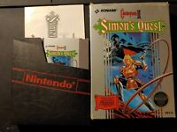 Castlevania II Simon's Quest (NES) CIB - Cleaned/Tested