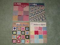 AMERICAN SCHOOL OF NEEDLEWORK  101 CROCHET BOOK YOU CHOOSE: STITCHES EDGINGS ++