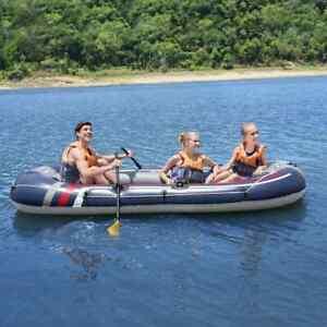 Bestway Radeau Gonflable Hydro Force Canot Kayak Bateau Pneumatique Piscine