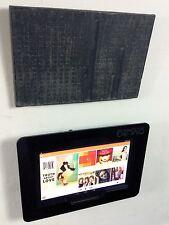 Nexus 10 Black Acrylic Security Enclosure w Wall Mount Kit