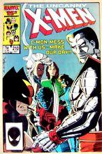 THE UNCANNY X-MEN 210 originale Marvel USA