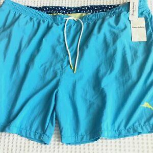 4XL Tommy Bahama Naples Coast Breeze Blue Swim Trunks Board Shorts