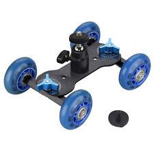 "Camera Video Rail Rolling Track Slider Skater Mobile Dolly Car +11"" Magic Arm"