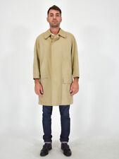 BURBERRYS' Trench Elegante Beige Coat taglia 50 Regular Veste M Uomo Man Vintage