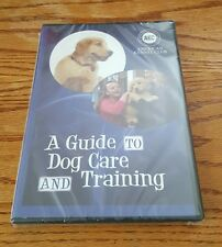 A Guide To Dog Care and Training (DVD, 2015) American Kennel Club pet how NEW