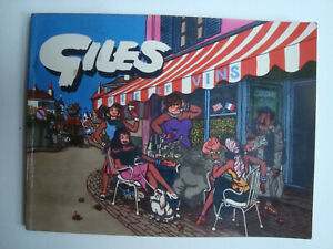 Classic Giles Cartoon Annuals Collections x 6 Books 1950s