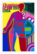 "Cuban decor Graphic Design movie Poster 4 film""INTIMATE Light""Music trumpet"