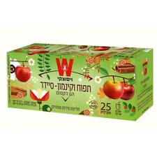 Wissotzky Magical Garden Apple & Cinnamon Cider Infusion Decaff Kosher 25 Bags