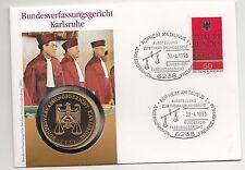 Numisbrief Bundesverfassungsgericht Karlsruhe/25 Jahre    Nr.83/4/17/633