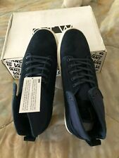 VANS OTW COLLECTION ALOMAR washed suede Blue Size 13 New with Box High Tops