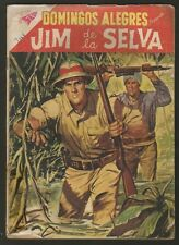 Domingos Alegres #204 Jim De La Selva Comic Spanish Mexican Novaro 1958
