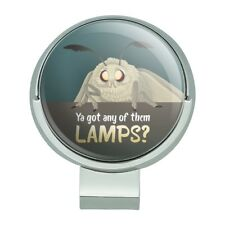 Moth Lamp Meme Golf Hat Clip With Magnetic Ball Marker