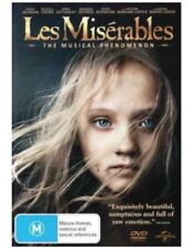 Les Miserables DVD TOP 1000 MOVIE BEST PICTURE MUSICAL Hugh Jackman BRAND NEW R4