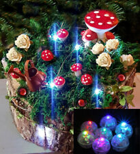 Light your Fairy Garden Set Accessories Decorations Ornaments - Various Colours