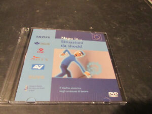 """Videocorso Tutorial DVD Inail """" Napoli IN Situations Of Shock """" New Sealed"""