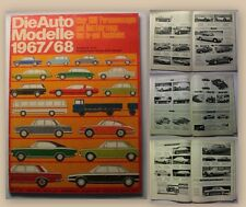 Automodelle Katalog 1967/68 Nr 11/67 Fachzeitschrift Automobile Autos Oldtimer