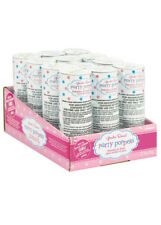 Baby Shower Gender Reveal Girl Twist Party Poppers Pk12