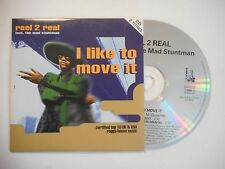 REAL 2 REAL : I LIKE TO MOVE IT ♦ CD SINGLE PORT GRATUIT ♦