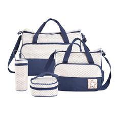 Babytasche 5er-Set Wickeltasche Mutter Windeltasche Handtasche Schultertasche