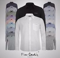 Mens Pierre Cardin Casual Regular Long Sleeve Shirt Sizes from S to XXL
