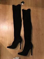 Zara over  knee suede boots, new, UK 7, EUR 40, UK6