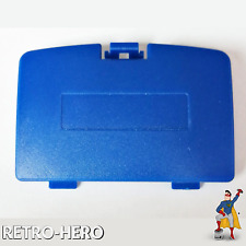 GameBoy Color Battery Cover GBC Shell Door Game Boy Pokemon Pikachu Edition Blue