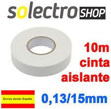 2x Cinta Aislante PVC Blanca 10 metros x 15mm x 0,13mm  H0032