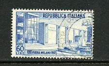 Italy 1952  #600  Milan Fair  1v.  used  H711