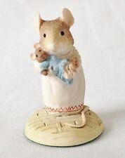Brambly Hedge Primrose Teddy Mouse Figure BH40 - Border Fine Arts Bramby Hedge