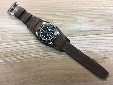 Real Leather Cuff Watch Strap | Cuff Watch Band-Fit for Rolex, IWC Watch
