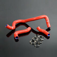 For VW Golf Bora Jetta MK4 IV 1.8T Turbo Silicone Radiator Coolant Hose kit Red