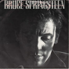 "BRUCE SPRINGSTEEN ""BRILLIANT DISGUISE/LUCKY MAN"" 45 PIC SLEEVE - NM"