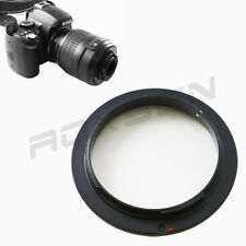 52mm 52 MM Macro Reverse Lens adapter for Sony Alpha A Minolta AF mount camera