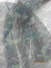CAMO NET MILITARY ISSUE  5 X 8 WOODLAND CAMOUFLAGE MESH NETTING DEER BLIND