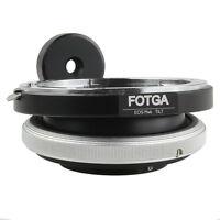 FOTGA Tilt Adapter Ring Fr Canon EOS EF lens to Micro 4/3 M43 M 43 E-P3 G2 EPL5