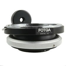 FOTGA Tilt Adapter Ring for Canon EOS Lens to Olympus Panasonic M4/3 Camera HOT