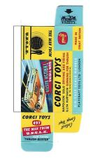 200+ DINKY & CORGI  BOX TEMPLATES ON CD ROM