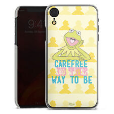 Apple iPhone Xr Handyhülle Case Hülle - Muppets Carefree is the way to be